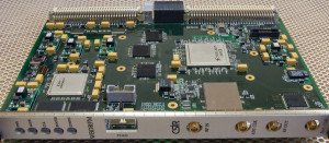Digital Processing Module (4th Generation DRFM) for which the optimized algorithms are developed.